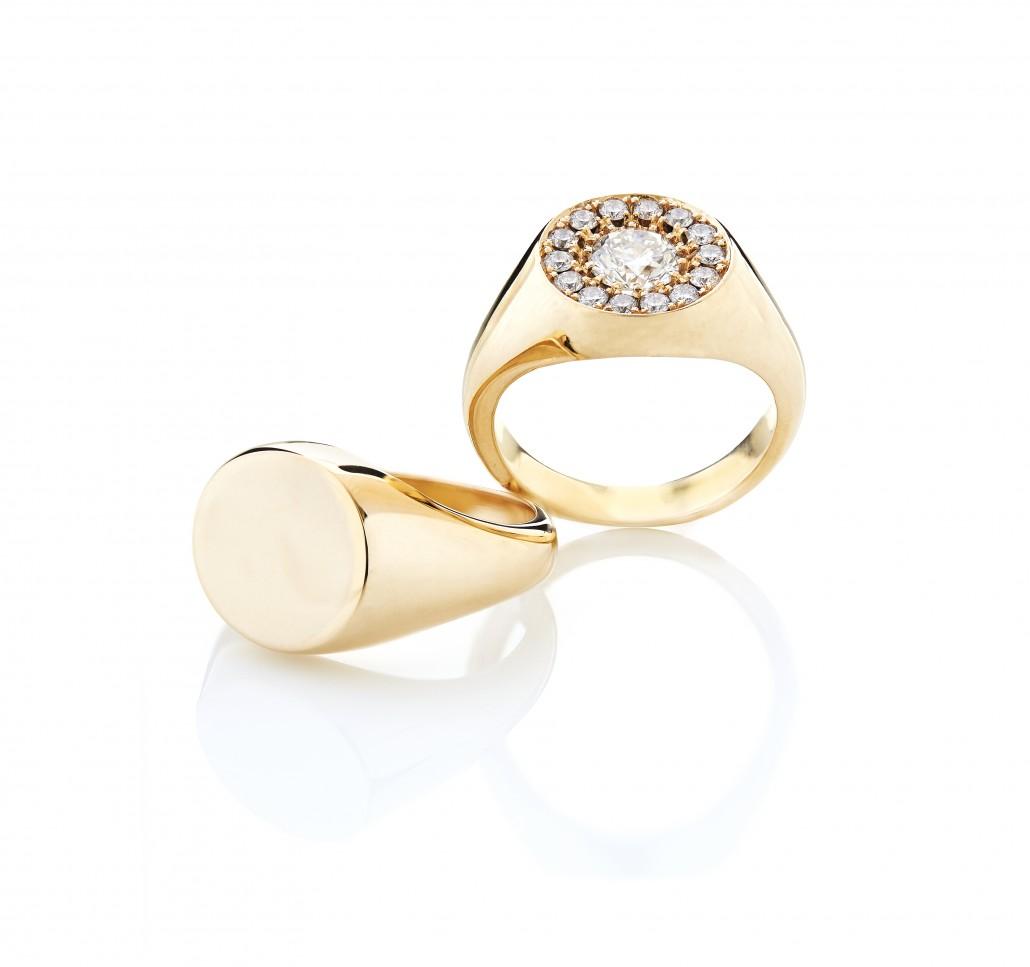 Damesmykker | Smuk guldring fra Melcher Copenhagen | Også som forlovelsesring