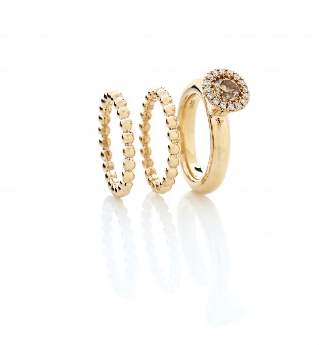 Damesmykker | Smukke ringe fra Melcher Copenhagen, brugt som giftering, vielsesring eller morgengave.