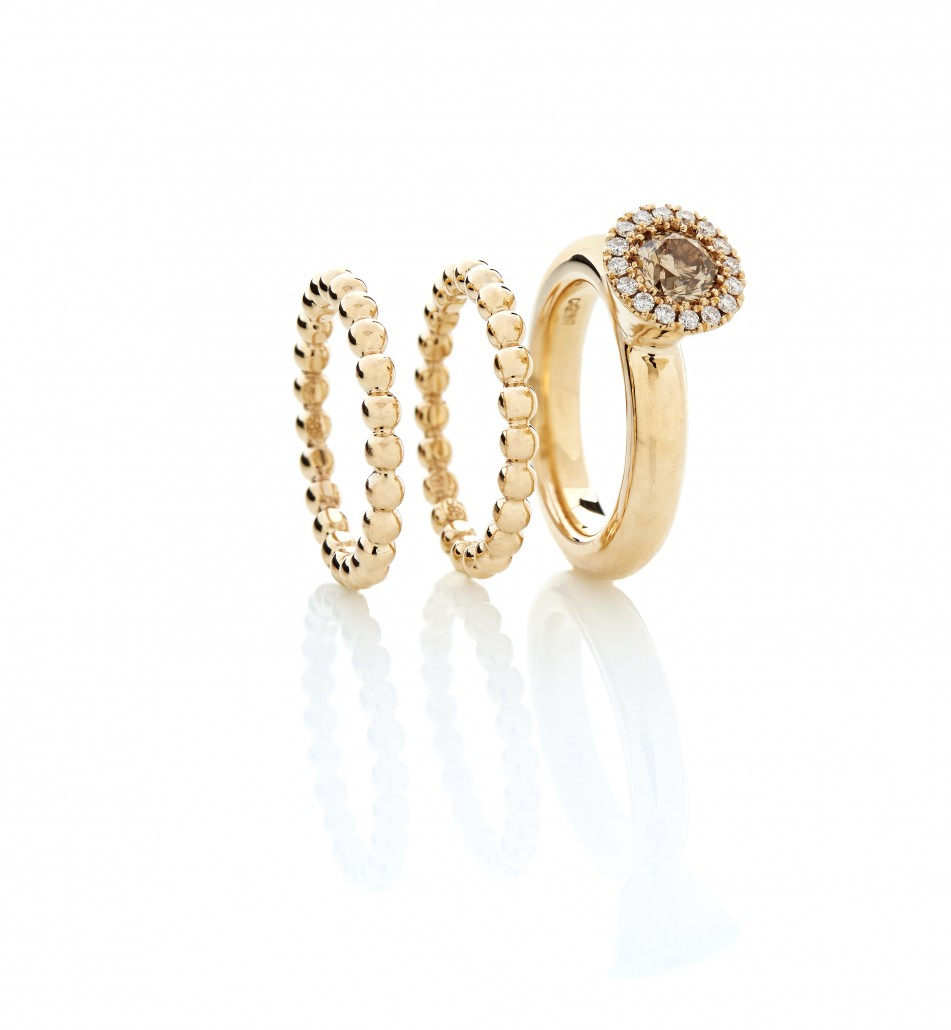 Damesmykker   Smukke ringe fra Melcher Copenhagen, brugt som giftering, vielsesring eller morgengave.