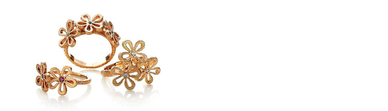 SMuk guldring fra Melcher Copenhagen til at fuldende din unikke samling af guldsmykker.